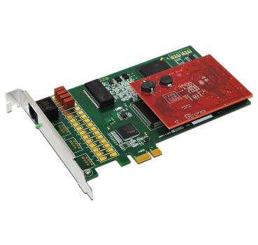 E1/T1 PRI PCI express Card plus 128 ms Hardware based Line Echo Cancellation on Octassic Tm DSP