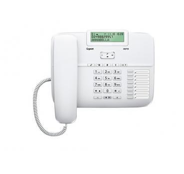 voipdistri voip shop gigaset da710 analog komfort telefon mit freisprech funktion. Black Bedroom Furniture Sets. Home Design Ideas