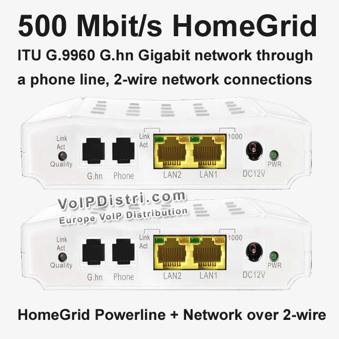 voipdistri voip shop 500 mbit s g hn modem homegrid itu ber telefonleitung 2. Black Bedroom Furniture Sets. Home Design Ideas