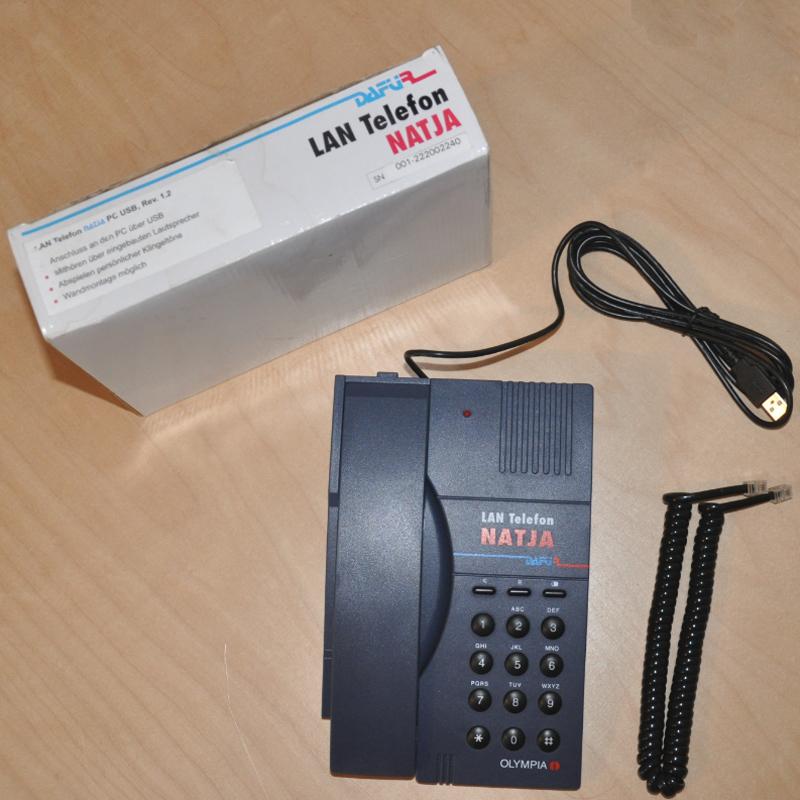 Voipdistri Voip Shop Daf 220 R Lan Telephone Natja Pc Usb