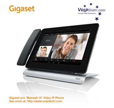 Gigaset PRO Maxwell 10 with DECT Handset, Full-Touch Video IP-Phone  (Android Systems)
