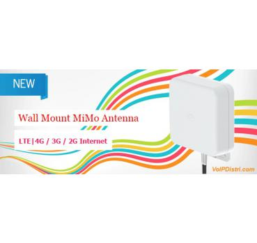 LTE MiMo Antenna 2 x 5m cable with SMA connector (Professional  SoHo/Industrial 4G/LTE signal strength), 700-2700 6dbi, Supports 2G/3G/4G  Networks