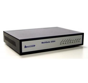 Welltech Wellgate 2504 - 4 port FXS (Phone/Fax) Analog VoIP Gateway (3CX  support)
