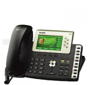 VoIPDistri VoIP Shop - Yealink SIP-T38G Gigabit Color IP