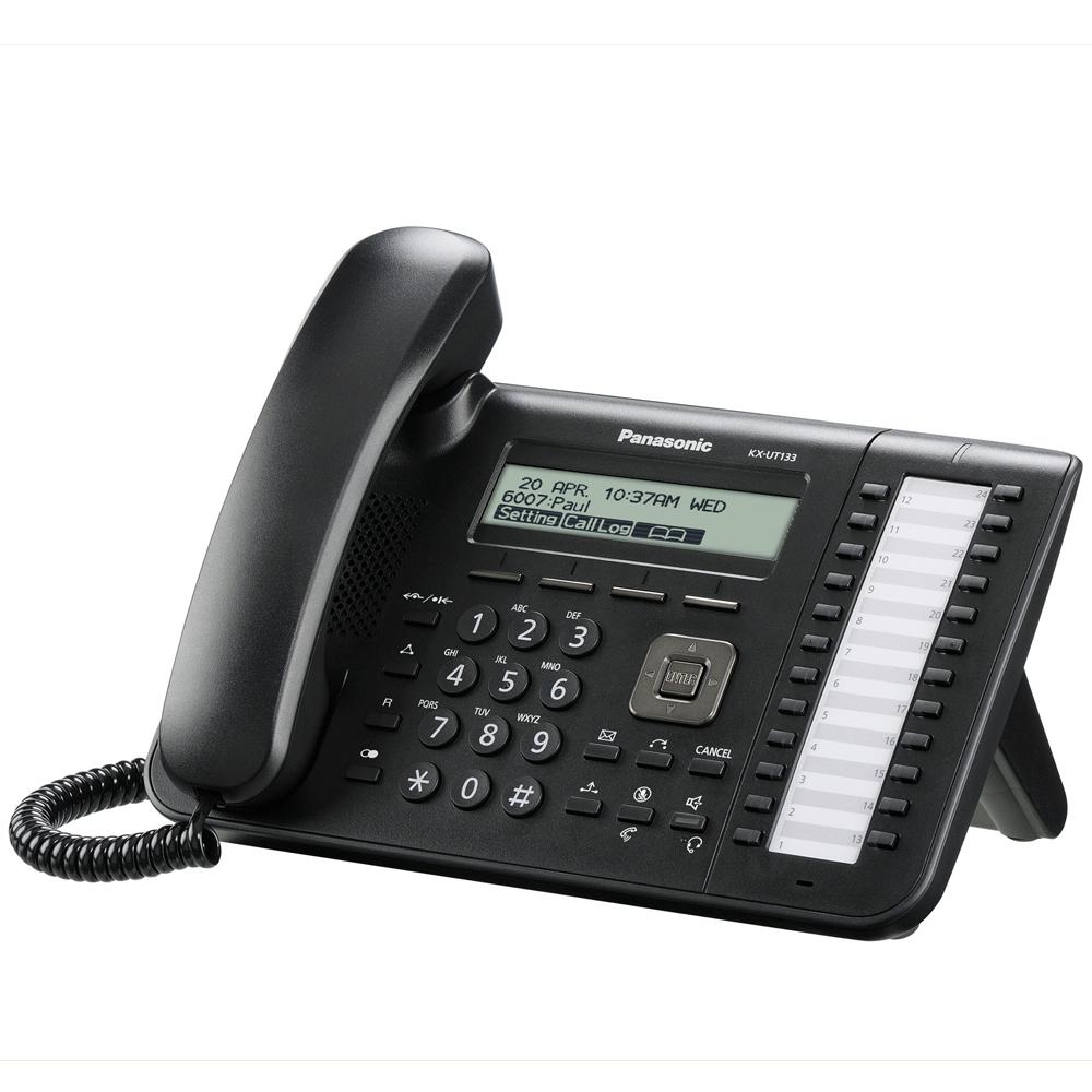 Panasonic SIP KX-UT133 Office Desk Phone (KX-UT133NE-B)