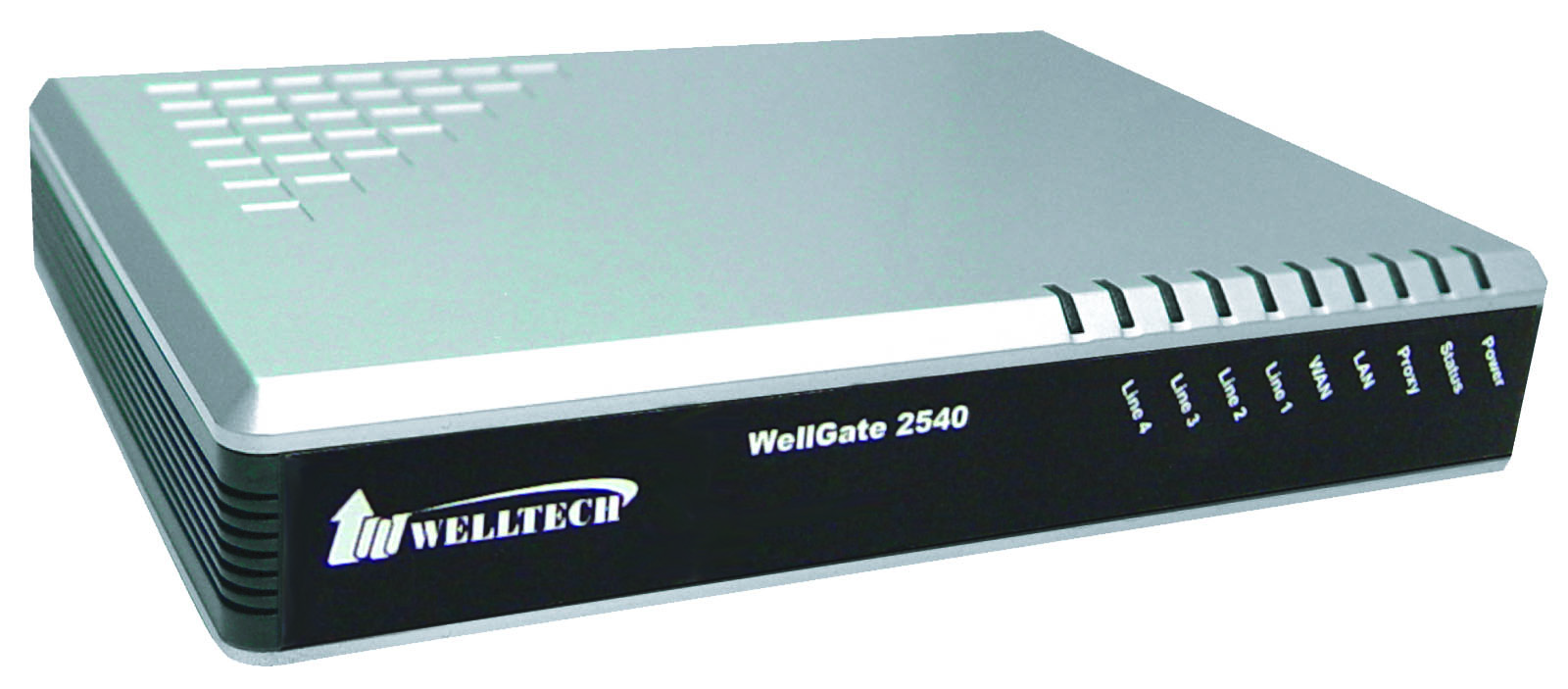 Welltech Wellgate 2540 - 4 port FXO (PSTN/POTS) Analog VoIP Gateway (
