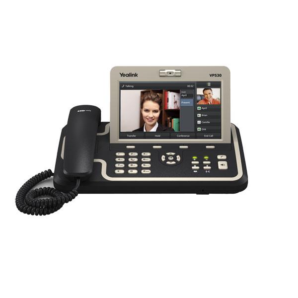 VoIPDistri VoIP Shop - Yealink VP530 IP Video Phone, Video